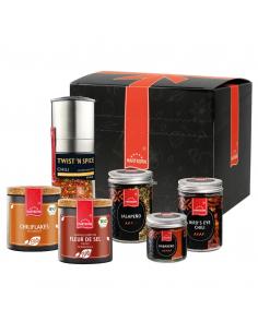 Chilli spice set in the box