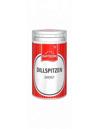 Spice shaker dill tips, grated