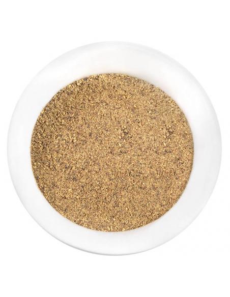 Pfeffer schwarz gemahlen Gewürzansicht - Hartkorn