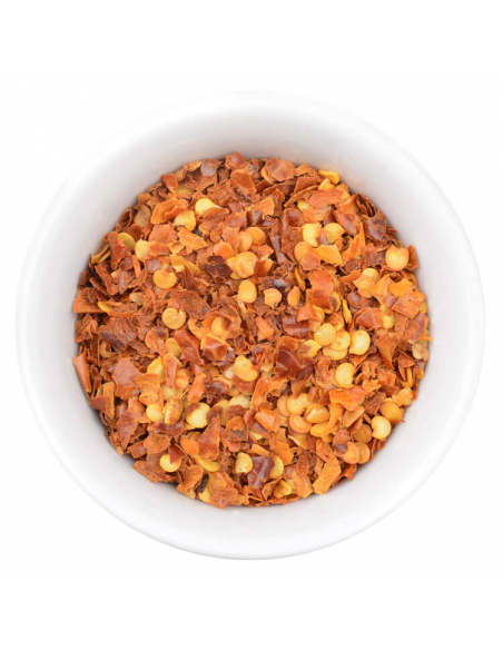 Chiliflocken Gewürzansicht - Hartkorn