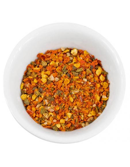 Chili Pimientos picantes Gewürzansicht - Hartkorn