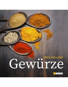 spices from Ingo Holland-Book
