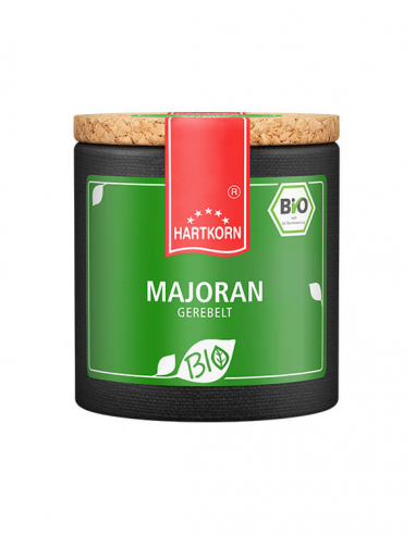 Bio spice marjoram dried