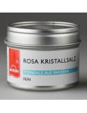 Rosa Kristallsalz fein