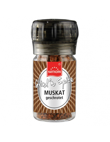 Grind´n Spice Muskat geschrotet online bestellen