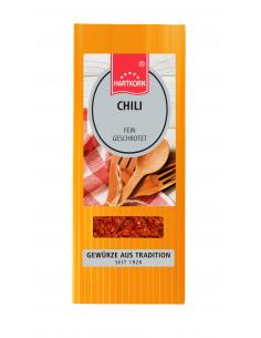 Gewürzbeutel Chilis fein geschrotet
