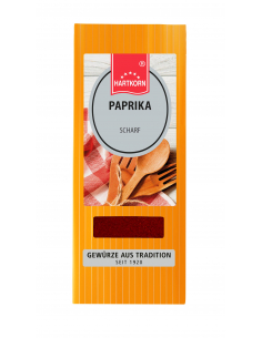 Spice bag paprika spicy
