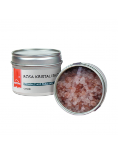 Rose crystal salt coarse