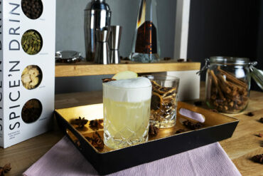 New Years cocktail with Eck Gin: Koblenz Mule