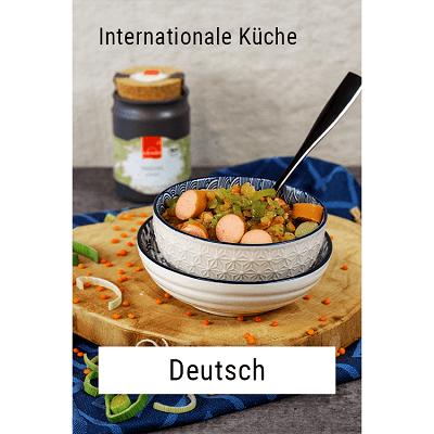 Internaionale Küche - Deutsch