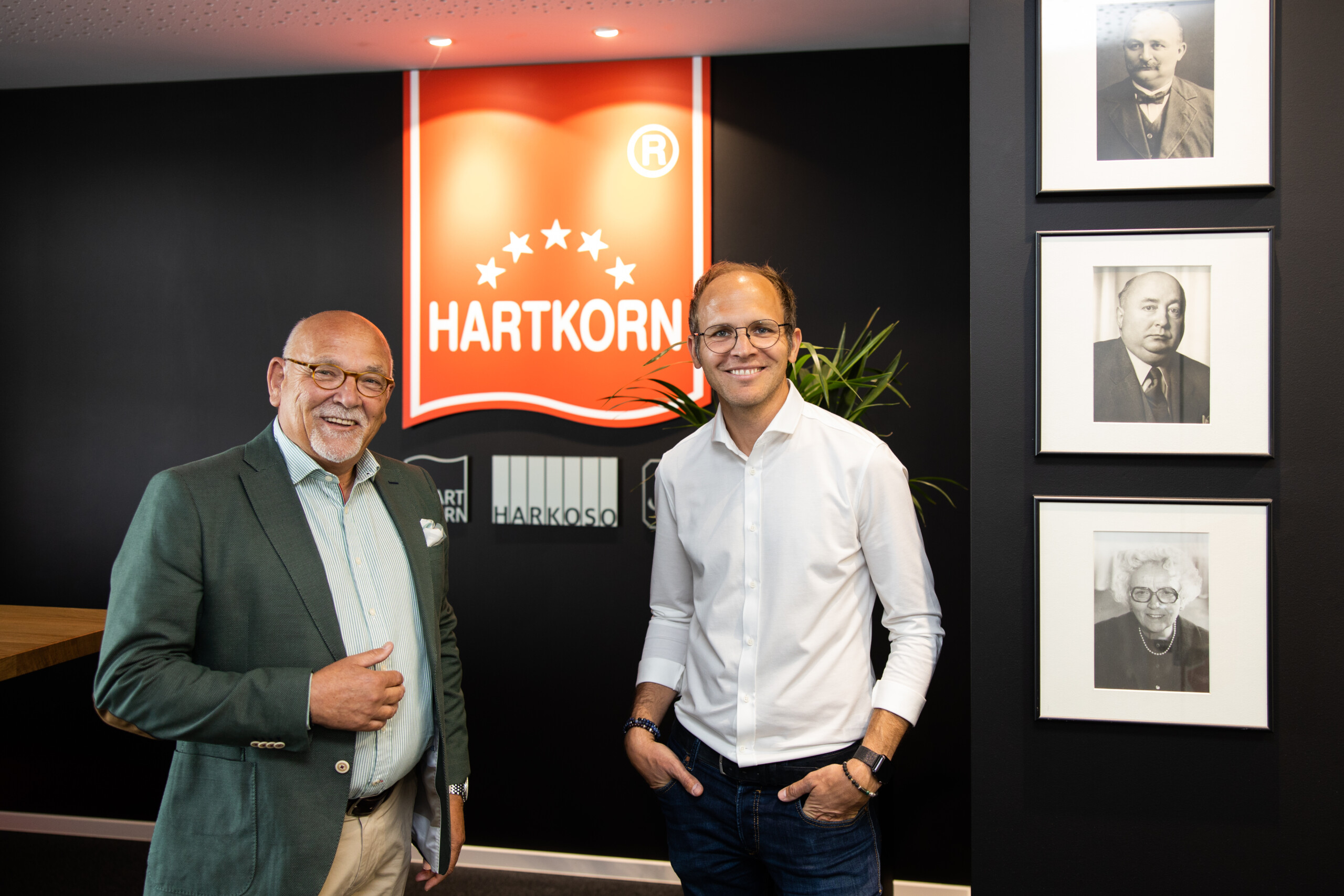 Hans Dieter Hartkorn und Dr. Andreas Hartkorn